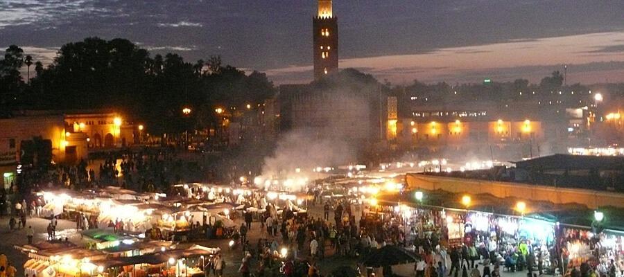 Gycklartorget Marrakesh